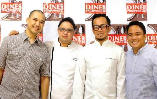 Alvin Reyes Lim, Chef Peter Ayson, Chef Sau Del Rosario, Adolfo Aran Jr.