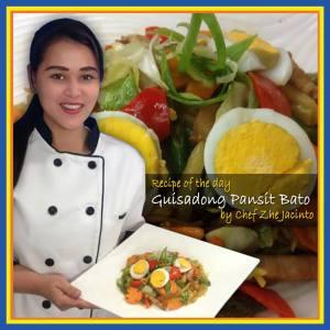 Guisadong Pansit Bato