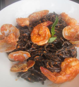 Seafood Black Ink Pasta