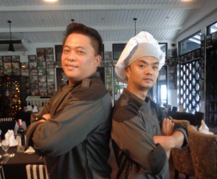 Chef Harold and Jomel
