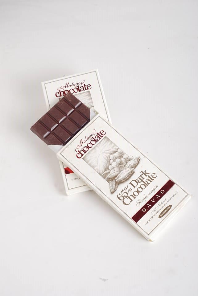 Malagos 65% Dark Chocolate Bar