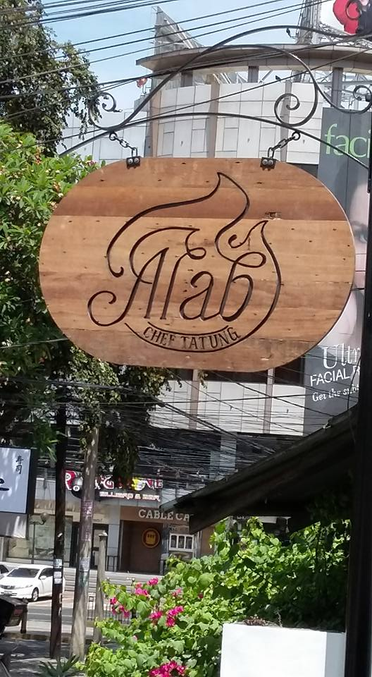 The Alab signage