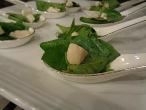 Ashitaba Salad with Golden Egg Photo Credit to Jim Moriones