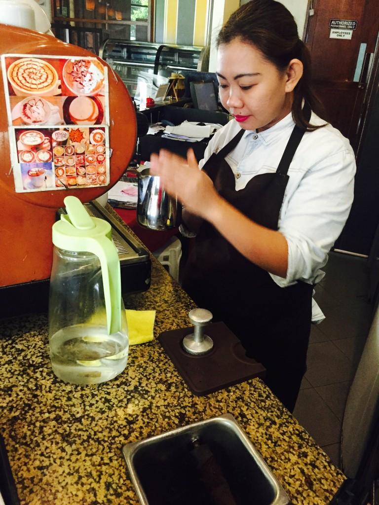 Kaffe Caffe Barista Mitch
