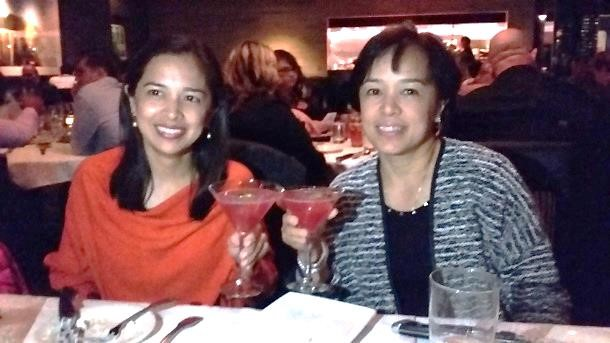 Cocktails, perfect steak & great company at Morton's The Steakhouse