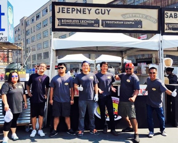 The crew of Jeepney Guy