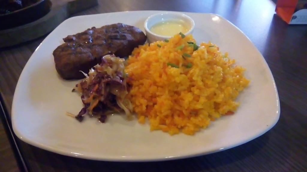 Top Fillet Steak, Imbiss Manila