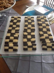 Michelle's Checkerboard cookies