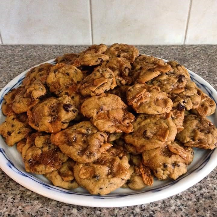 My award winning Salted Caramel Chocolate Chip Cookie