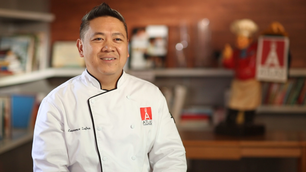 Chef Lawrence Zafra, Atlas Culinary Institute