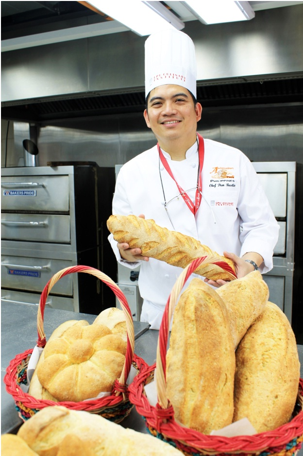 Chef Dan Basilio, Lyceum of the Philippines University