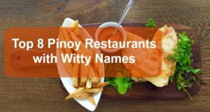 Top 8 Pinoy Restaurants with Witty Names