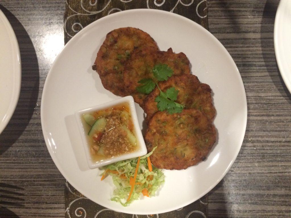 Crab Cakes, authentic thai food, Siam Noodle House, Noodle Soup,
