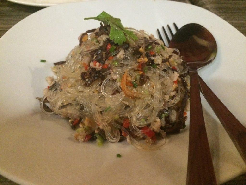authentic thai food, Siam Noodle House, Noodle Soup, glass noodle salad