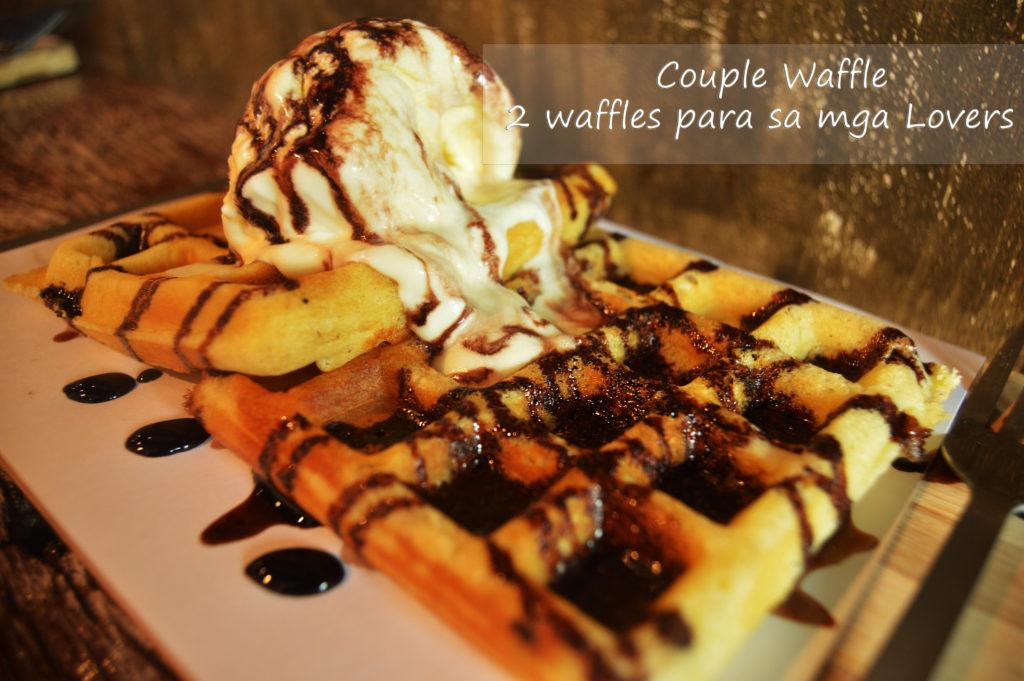 Couple Waffle - 2 waffles para sa mga lovers