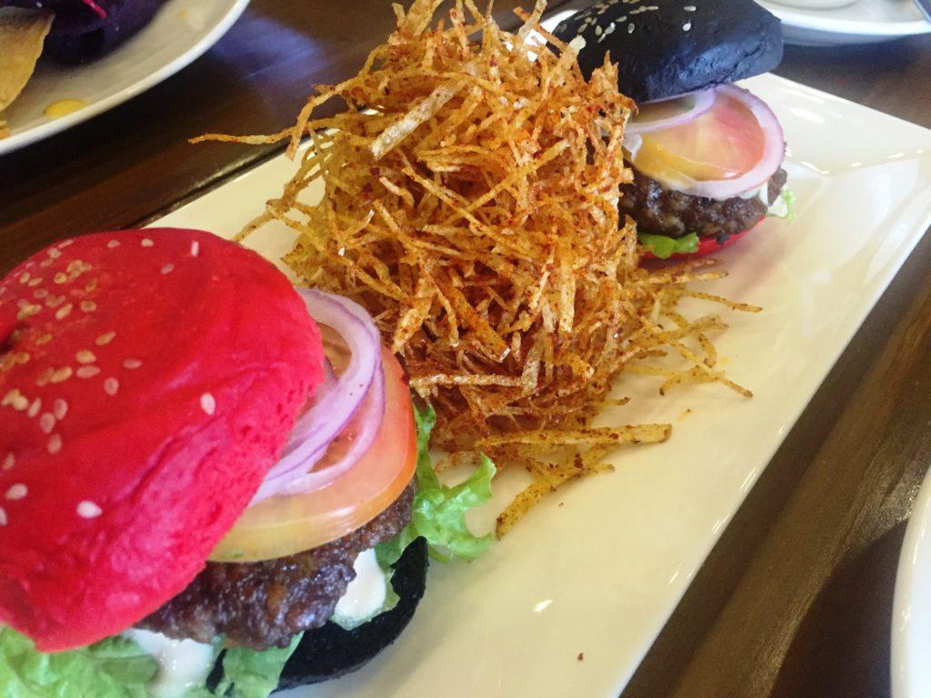 KoCos Restaurant R&B Burger Sliders