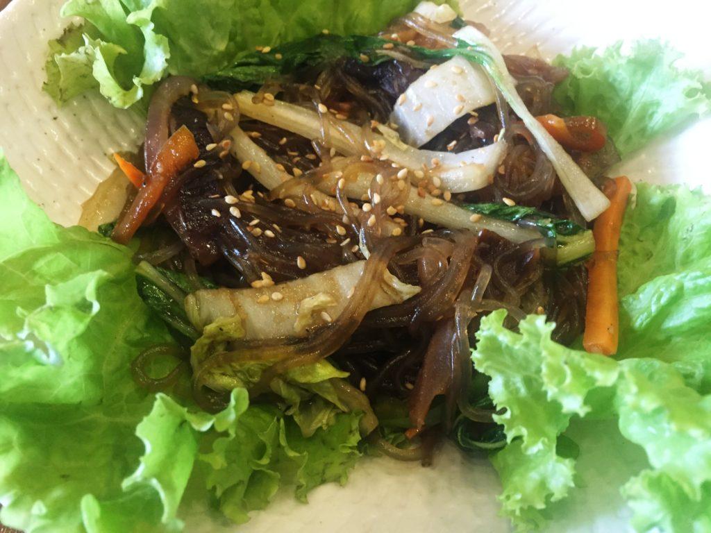 KoCos Restaurant Japchae
