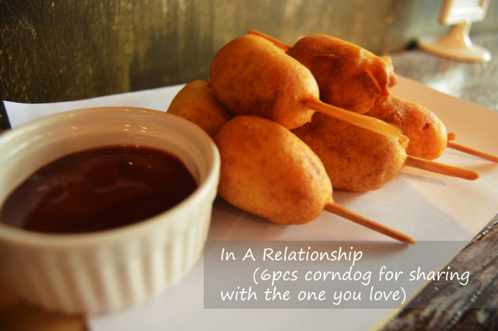 In A Relationship (6pcs corndog for sharing with the one you love)