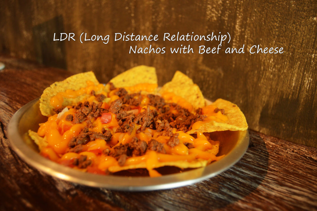 LDR (Long Distance Relationship) - Nachos with Beef and Cheese