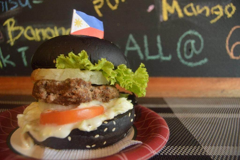 Street Café Charcoal Aloha Burger