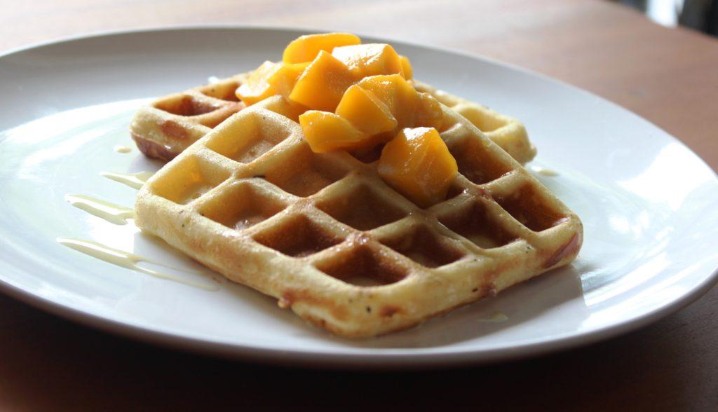 Tropical-waffle