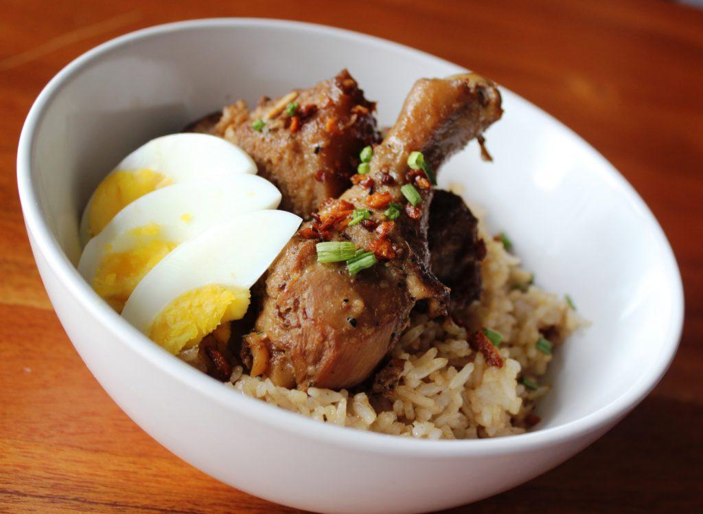 Adobo-Rice-with-Chicken-&-Pork-Adobo