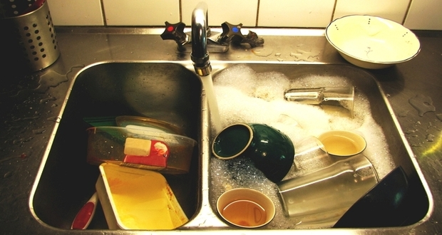 The Case Of Clogged Kitchen Sinks