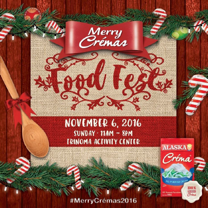 Alaska. Alaska Merry Crémas Food Fest 2016, food fest in manila, Alaska Crema All-Purpose Cream