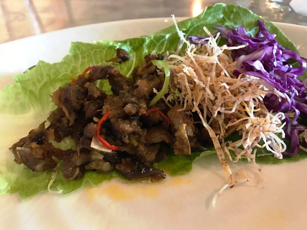 Sucking Pig Salad
