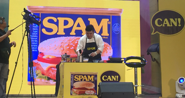 SPAM®, SPAM-CAN!, Spam-Recipes, Children's-Hour, Trivia-about-Spam, ALL4SPAM