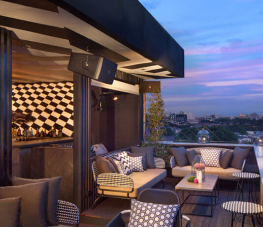 Bart best rooftop bar - Food Finds Asia