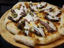 Pizza Piemontese at In-Room Dining Italian - Food Finds Asia