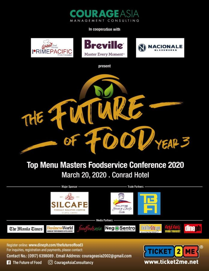 THE FUTURE OF FOOD YEAR 3: TOP MENU MASTERS FOODSERVICE CONFERENCE 2020