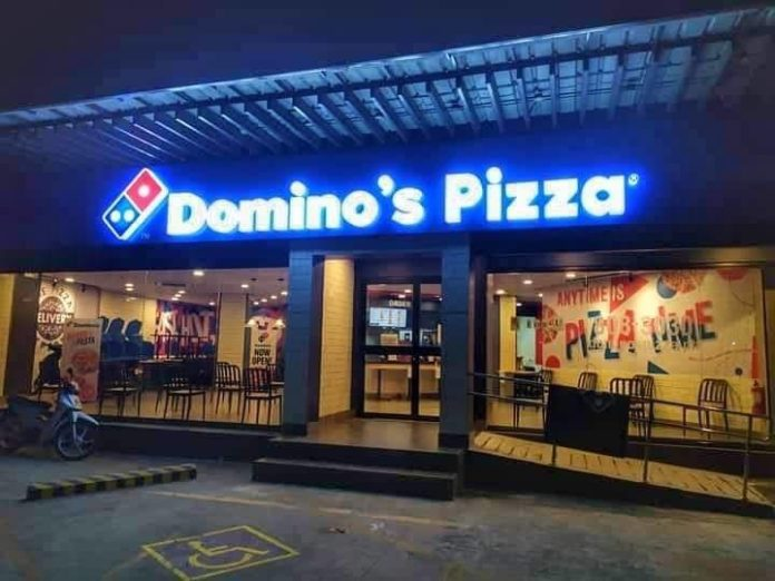 Domino's Philippines Lights up their Signs as a Message of Support to Frontliners and the Community 2020 - Food Finds Asia