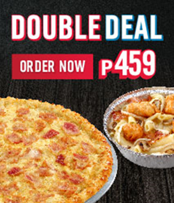 Dominos Pizza Double Deal