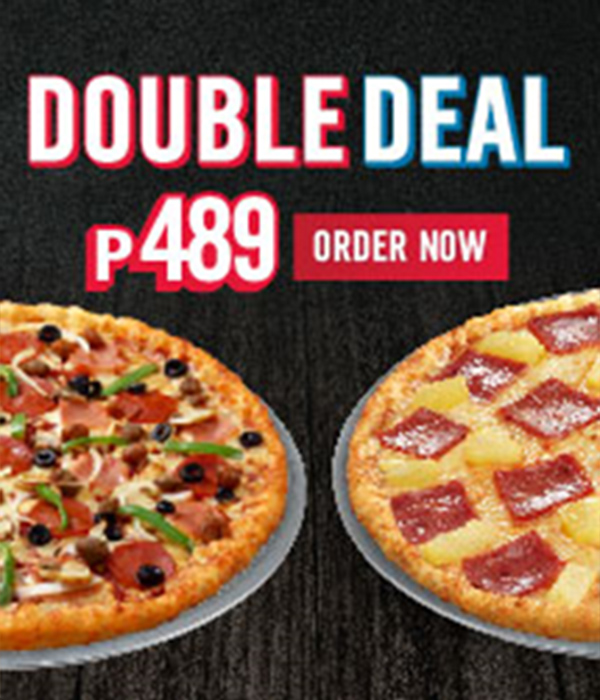 Dominos Pizza Double Deal 2 Foodfindsasia Com