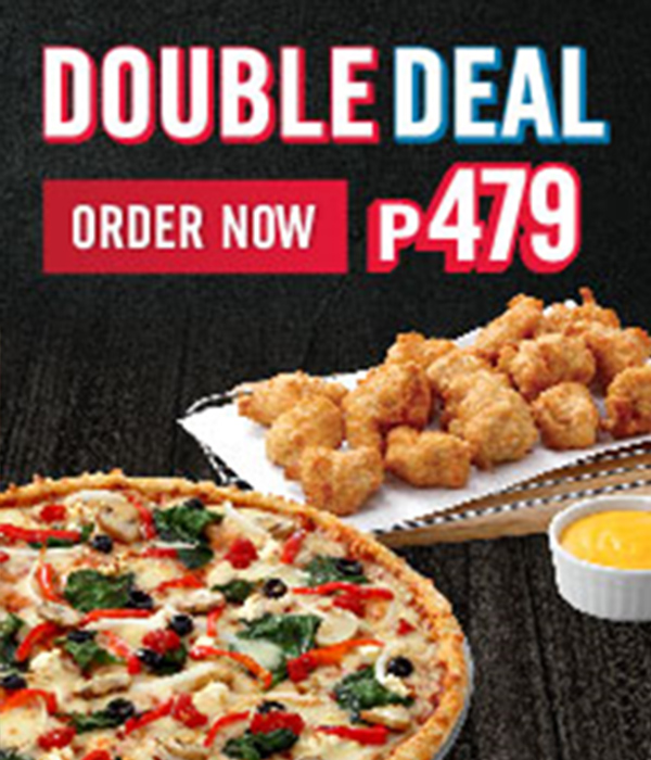 Dominos Pizza Double Deal 3
