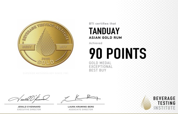 Tanduay Thanks Farmers, Distillers for Its Latest Awards 2020 - Food Finds Asia