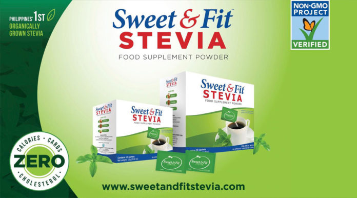 Sweet and Fit Stevia Healthiest Sweetener - Food Finds Asia