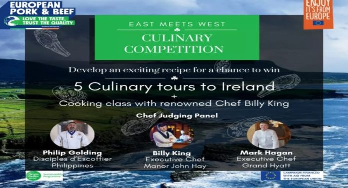 """Irish Food Board launches """"East Meets West"""" Culinary Competition 2020 - Food Finds Asia"""