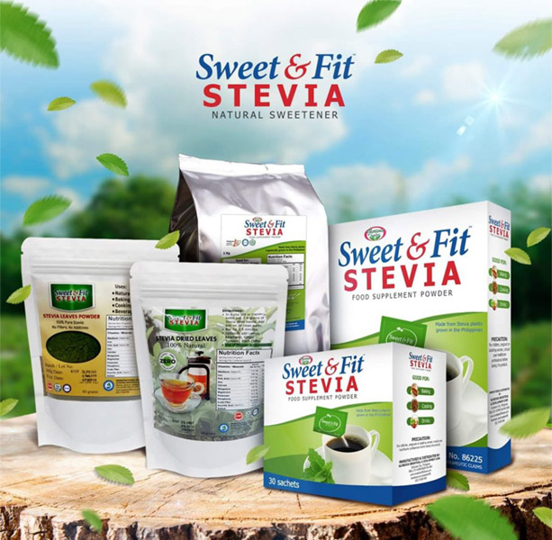 Sweet and fit Stevia Brand