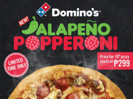 Domino's Hottest Pizza Jalapena Popperoni Pizza - Food Finds Asia