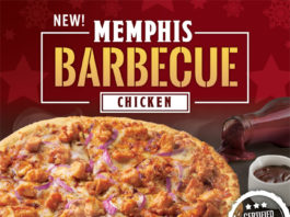 Memphis Barbecue Chicken Pizza - Food Finds Asia