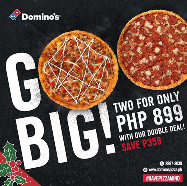 Domino's Pizza Double Deal