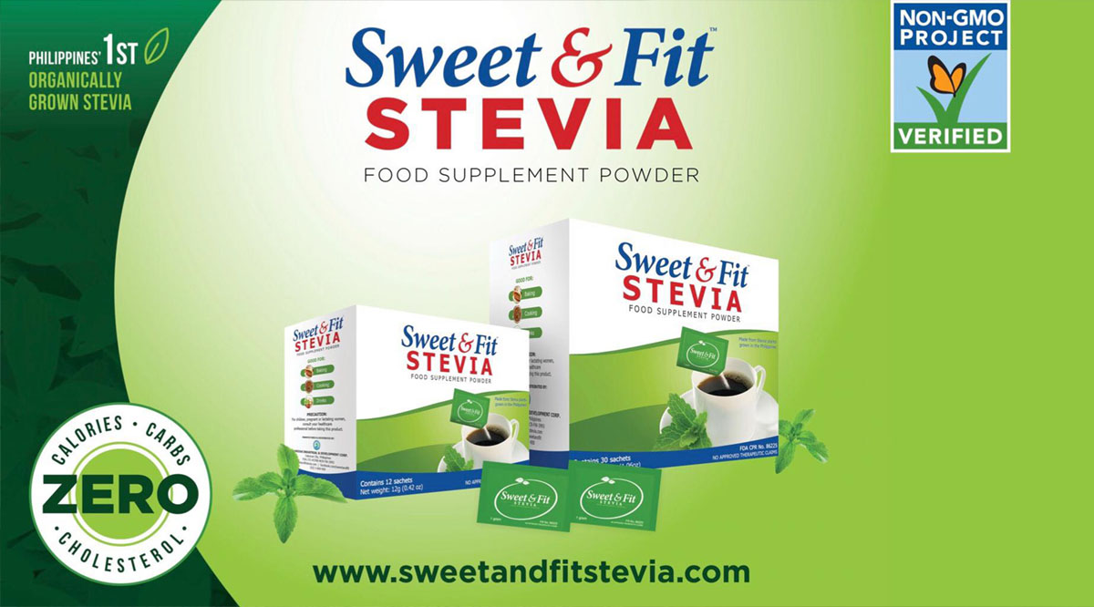 Sweet and Fit Stevia