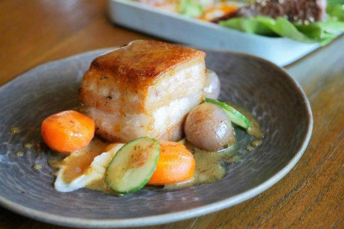 Premium Irish Pork and Beef from Europe showcased in Masterclass with Chef Mark Hagan