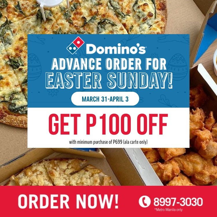 dominos ph easter promo