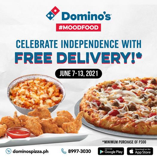 Domino's Pizza Free Delivery