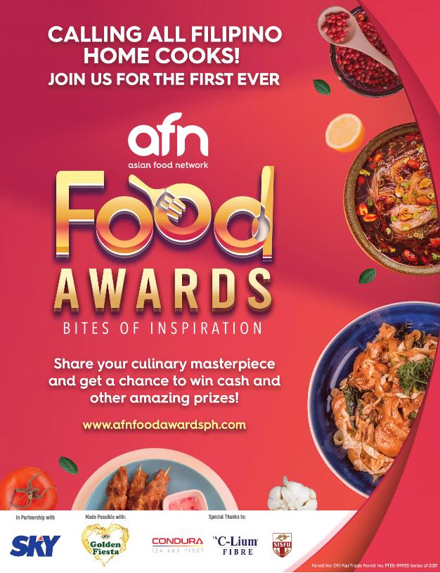 afn food awards poster