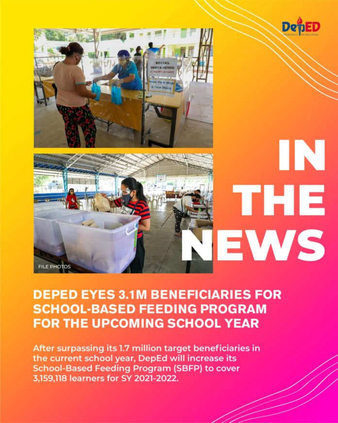 DepEd expects 3.1 million students